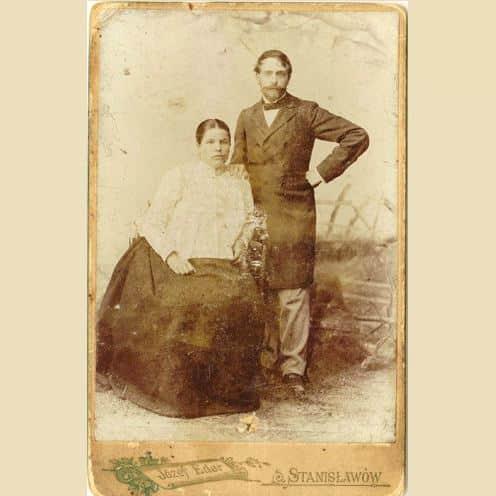 """Stanisław Wyspiański z żoną. Ich historia została opisana w książce """"Służące do wszystkiego"""""""