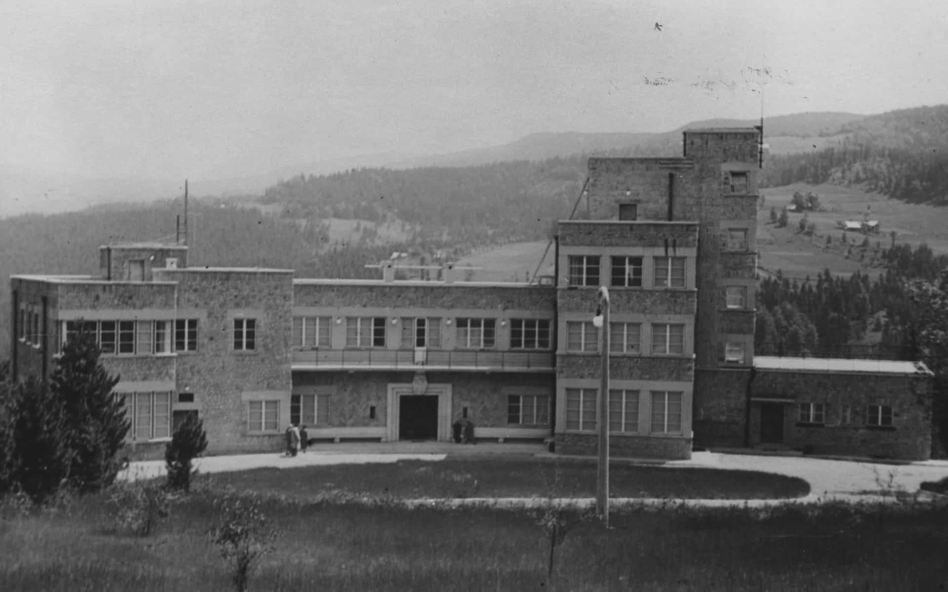 Zamek Prezydenta RP w Wiśle. Lata 30. XX wieku.