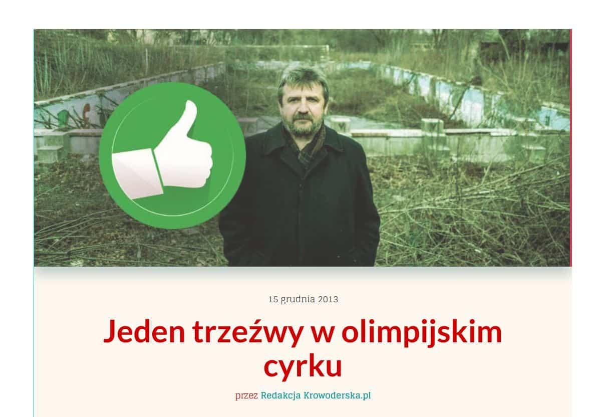 Z radnym Kalitą rozmawialiśmy już kilka lat temu. Wtedy okazją do rozmowy było to, że Adam Kalita była jedynym krakowskim radnym, który zagłosował przeciwko igrzyskom. Czytaj: Jeden trzeźwy w olimpijskim cyrku.