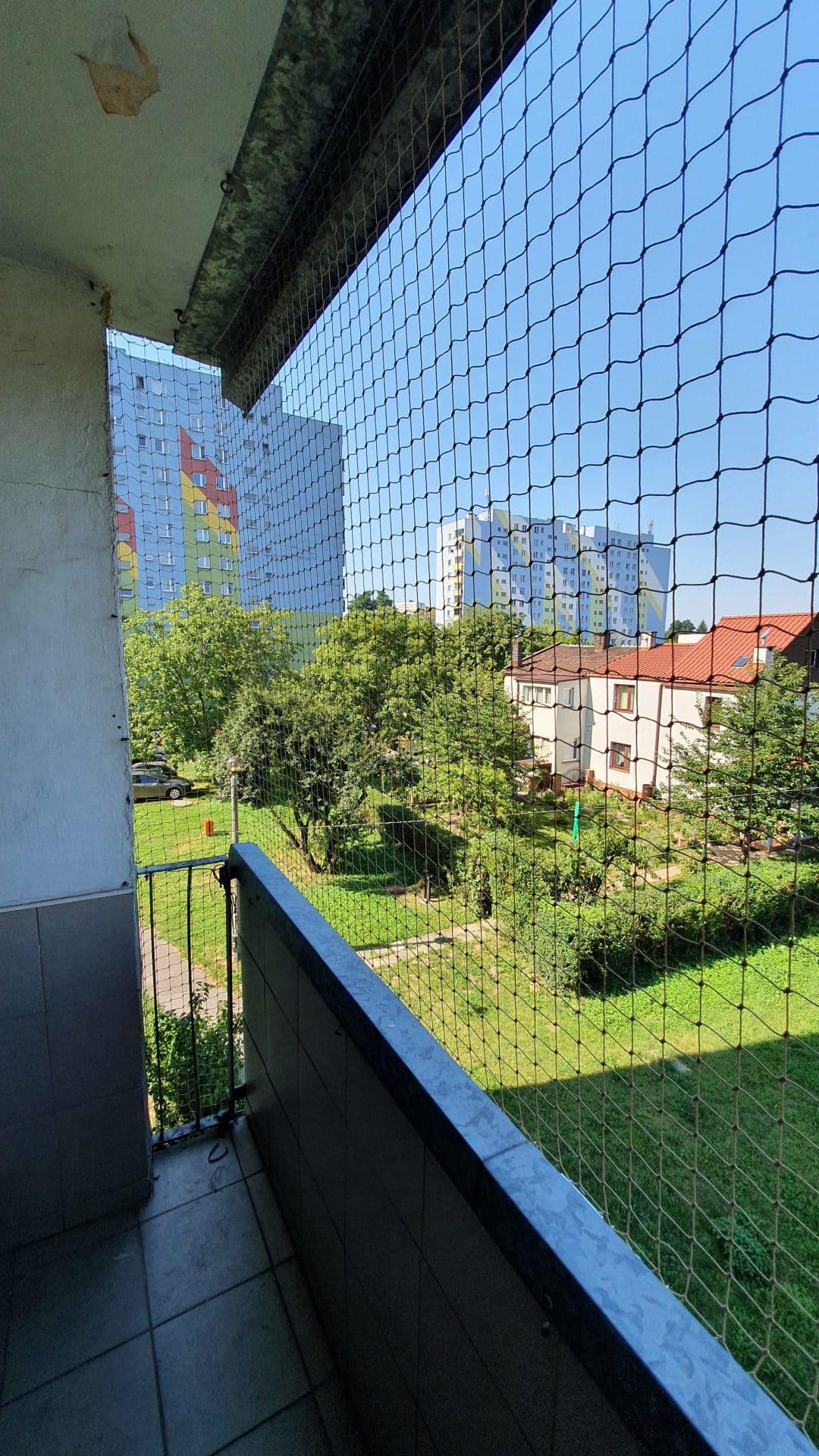 Koty Nieloty Siatka na balkon dla kota Siatka przeciwko gołębiom Kraków