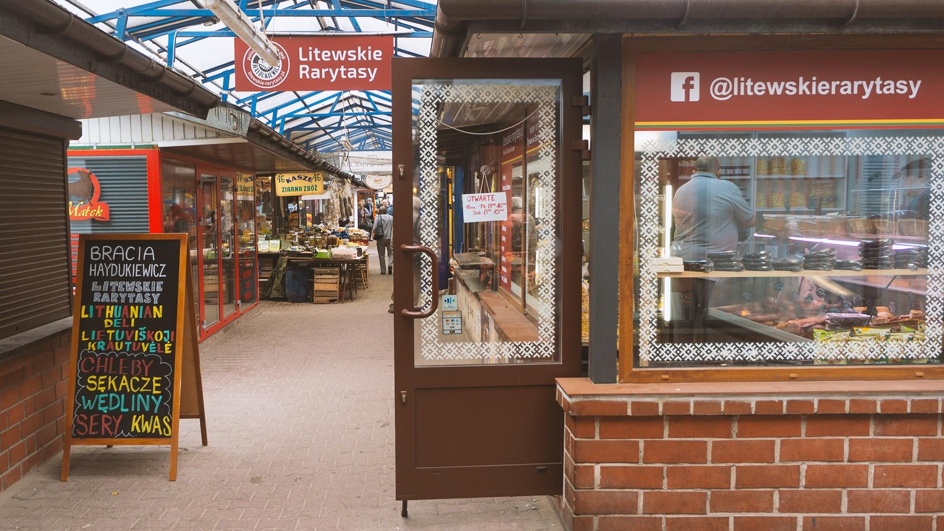 Litewskie Rarytasy z łatwością znajdziemy odwiedzając Stary Kleparz. Są też w internecie.
