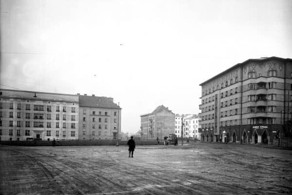 Plac Inwalidów Kraków Wacław Nowakowski
