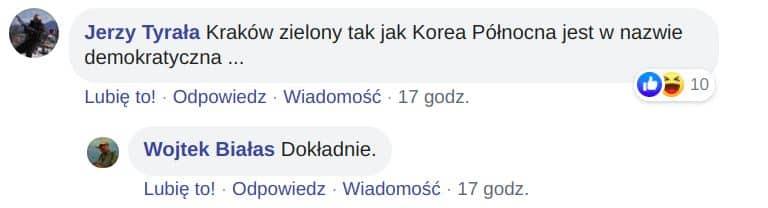 Zielona Stolica Europy 2023. Czytelnicy Krowy komentują plany Krakowa.