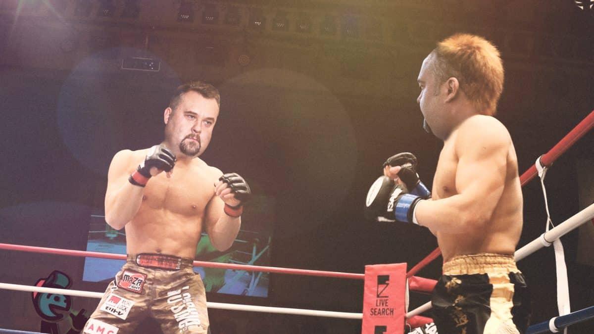 Dominik Jaśkowiec walczy z Dominikiem Jaśkowcem
