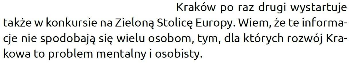 Krakow.pl Zielona Stolica Europy Maciej Grzyb obraża mieszkańców