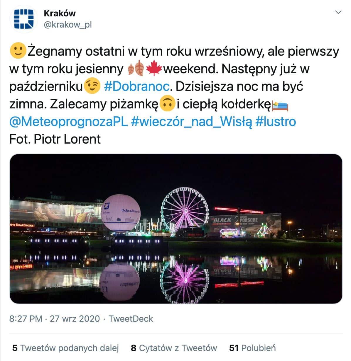 Krakow.pl chwali się otoczeniem hotelu Forum.