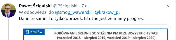"""Paweł Ścigalski przekonuje, że """"to tylko obrazek""""."""