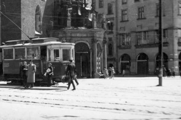 Tramwaj Rynek Główny Kraków