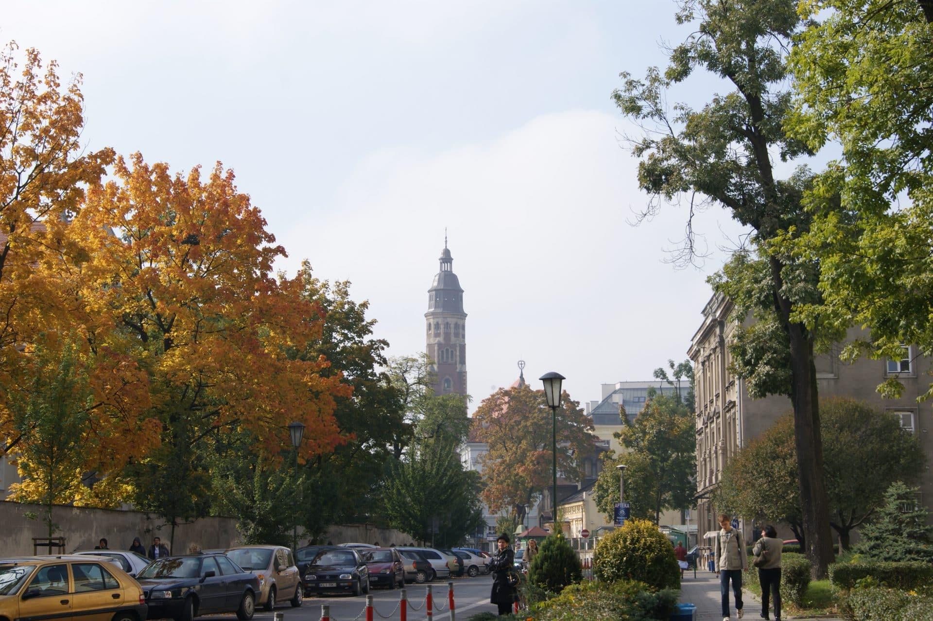 Wesoła, Kraków. Źródło: Zygmunt Put/Wikimedia Commons.