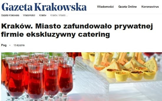 """Program Jacka Majchrowskiego z 2002 roku.  """"profesjonalną i konsekwentną promocję Krakowa"""":"""