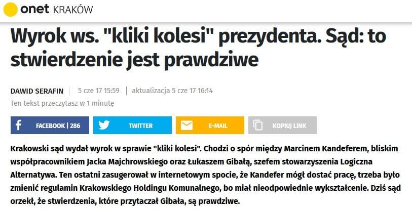 Praca. Kraków. Urząd Miasta Krakowa.