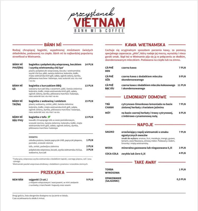 Banh mi z Przystanku Vietnam można zamawiać przez aplikację Uber Eats.