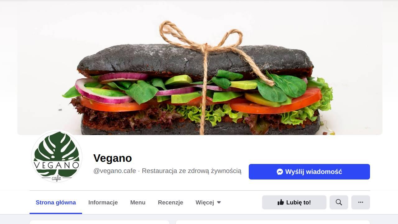 Vegano. Jedzenie na dowóz w Krakowie.