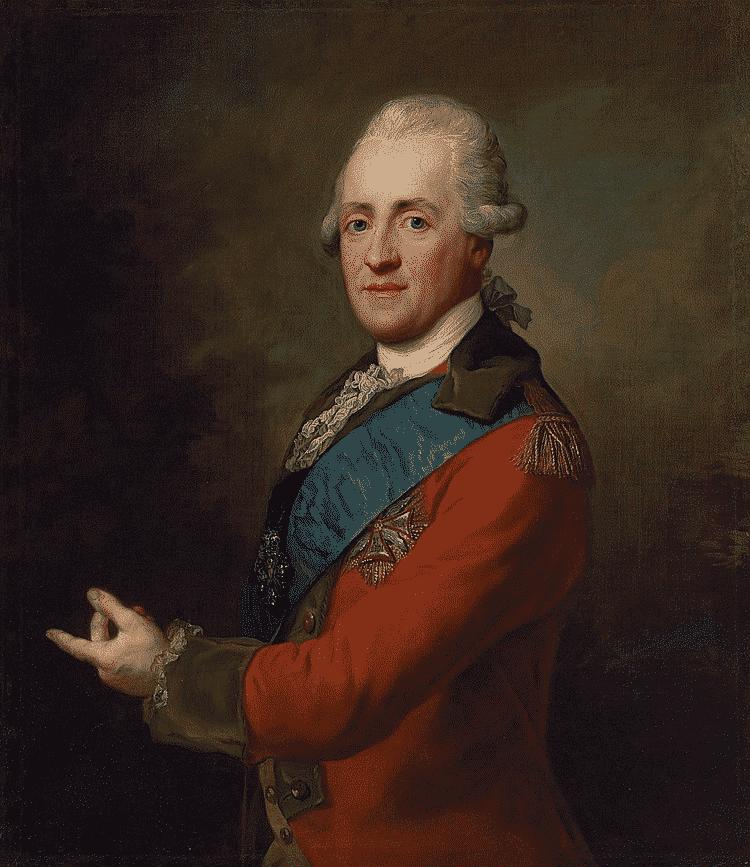 Nieznany książę Stanisław Poniatowski. Autorem obrazu jest prawdopodobnie Jan Chrzciciel Lampi.