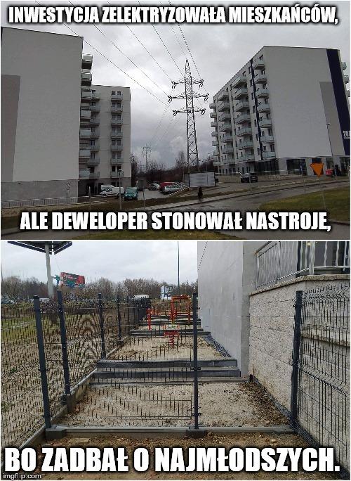Czyżyny. Nowe osiedle mieszkaniowe.