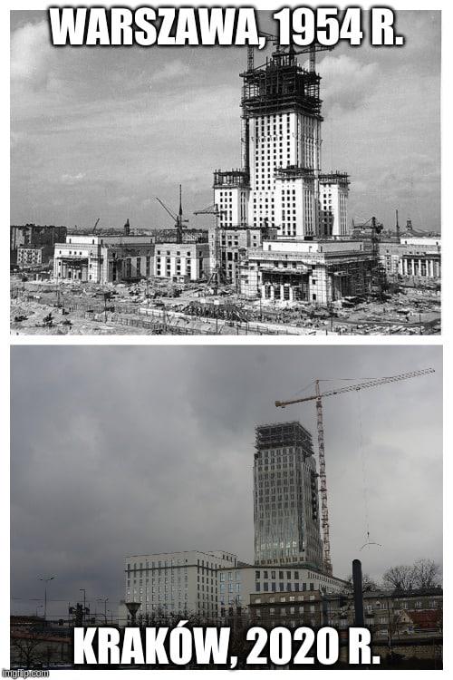 - Każdy ma taką wieżę Eiffla na jaką zasłużył. - mówi Marcin Makowski.