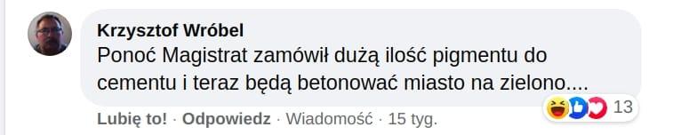 Zielona Stolica Europy 2023. Kraków. Komentarze.