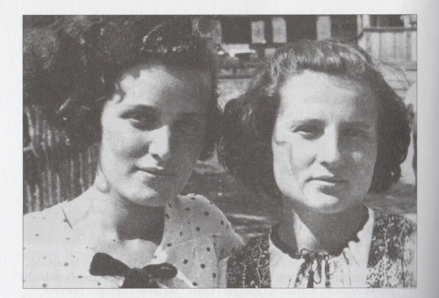 Członkinie krakowskiego ŻOB-u, Gusta Dawidson-Draenger i Minka Liebeskind, ok. 1938 roku.   / Żydowska Organizacja Bojowa.