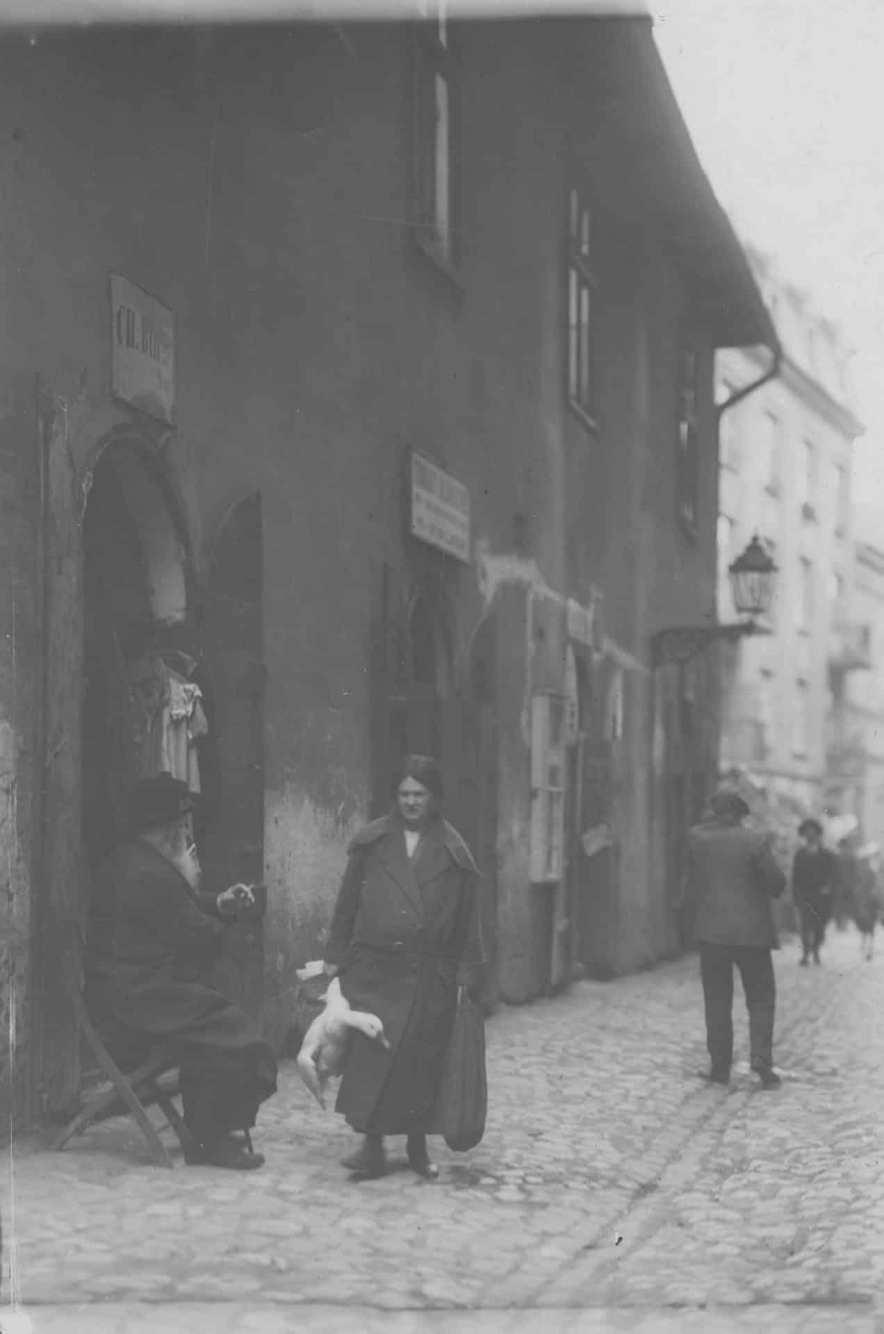 Zdjęcie zrobiono w 1926 roku. Źródło: Narodowe Archiwum Cyfrowe.