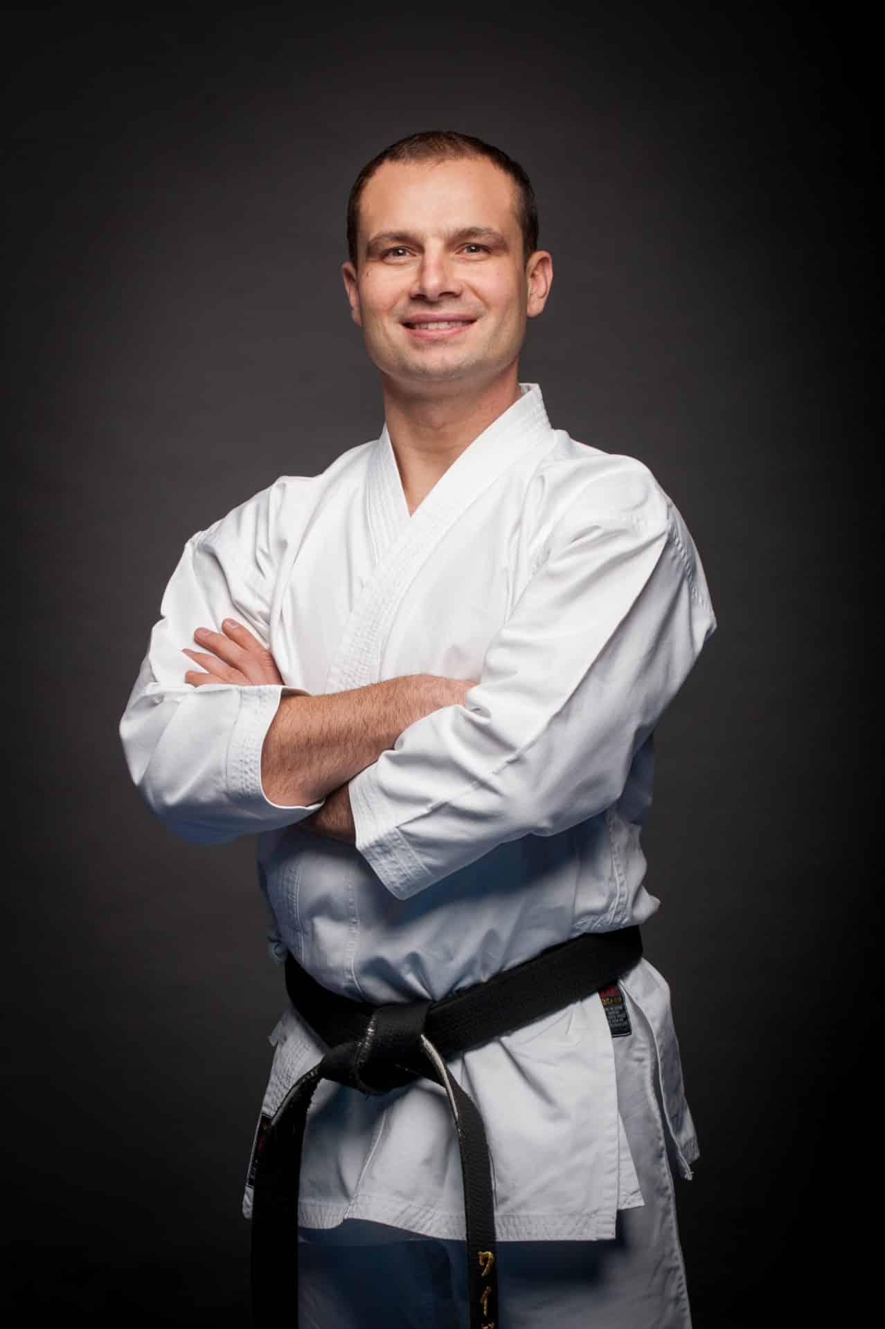 Sensei Rafał Wajda. Krakowski Klub Karate Tradycyjnego.