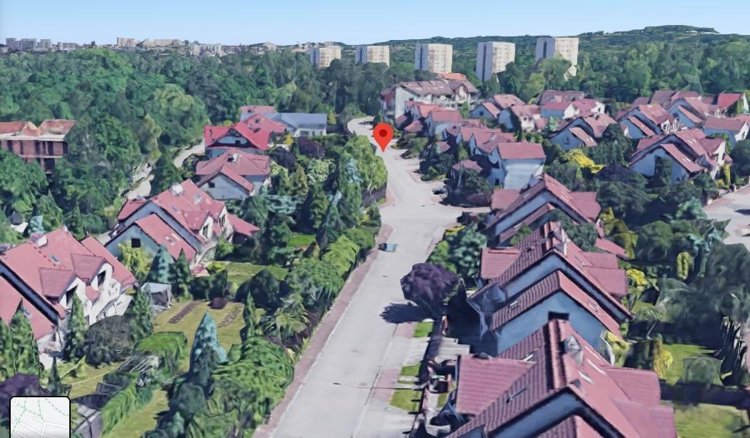 Ulica Szczerbińskiego w Krakowie. Głos mieszkańców został tu wysłuchany. Źródło: Google Maps