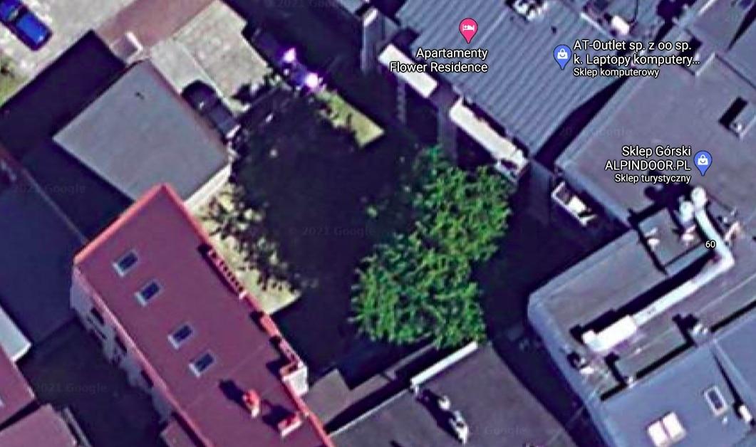 Ulica Krowoderska w Krakowie. Źródło: Google Maps.