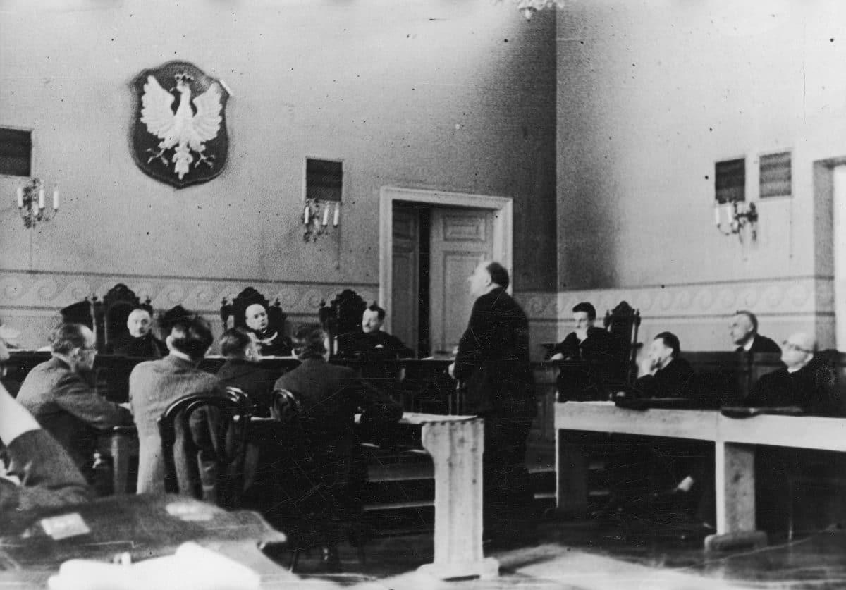 Edward Ruszczewski proces poczta w Gdyni Kazimierz Bartel