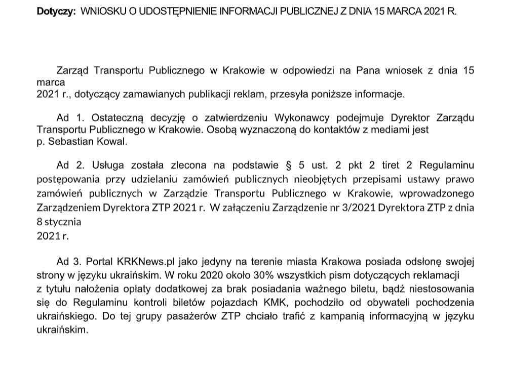 KRKNews.pl reklamy w Krakowie
