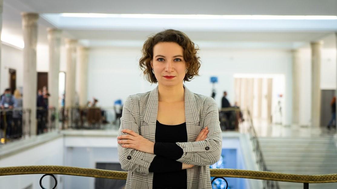 Daria Gosek-Popiołek. Fot. Przemek Krysiak.