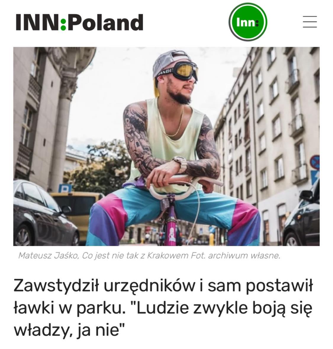 Mateusz Jaśko Co jest nie tak z Krakowem InnPoland