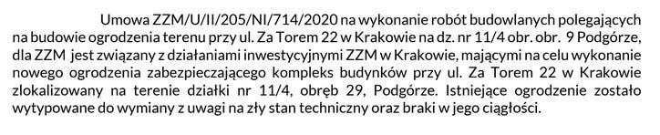 Za torem 22. Zarząd Zieleni Miejskiej.