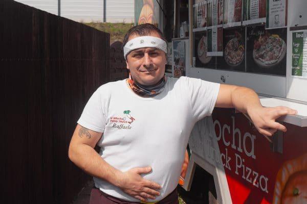 Raffaele Esposto U Włocha Food Truck