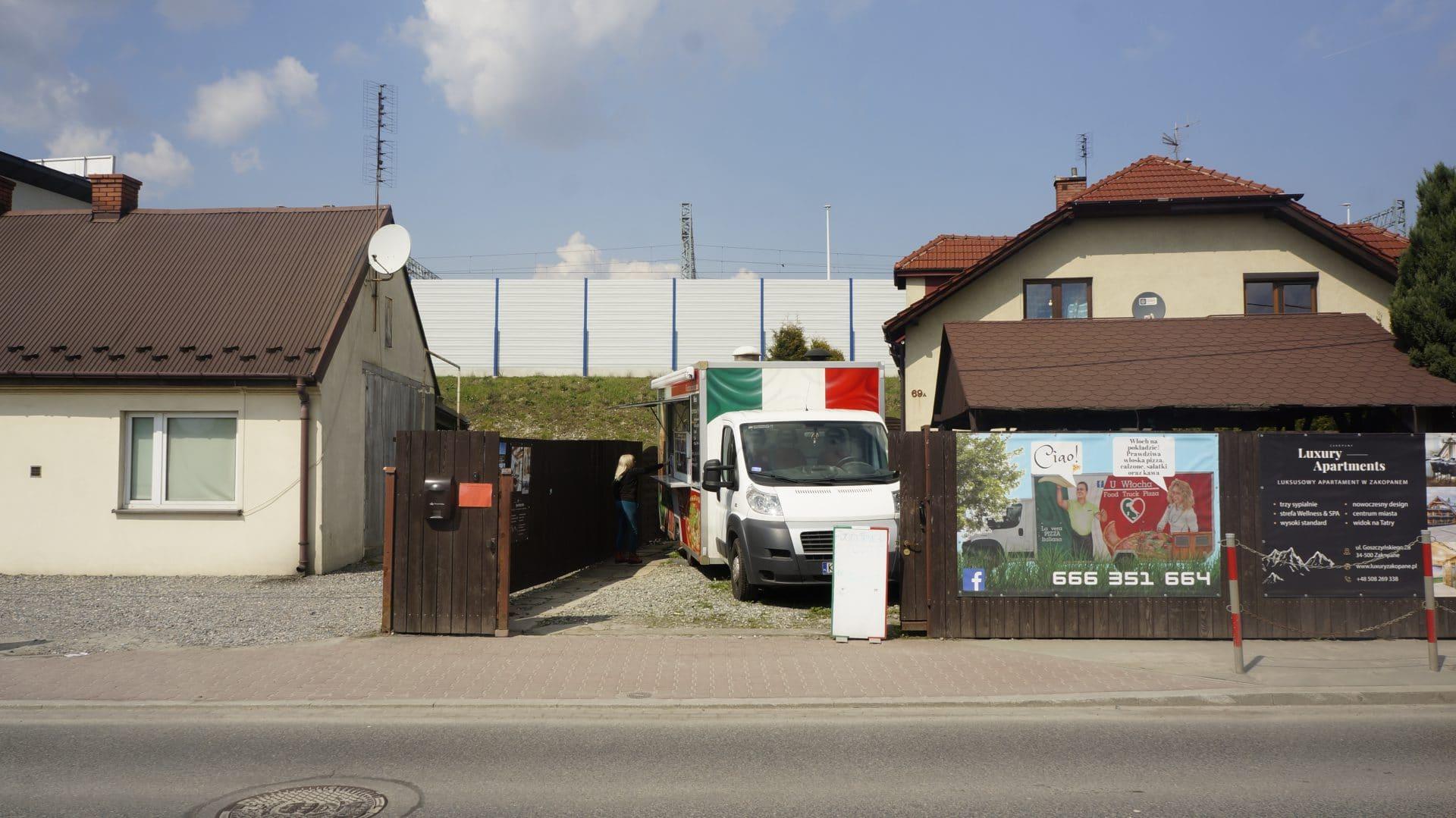 U Włocha Food Truck. Balicka 69a.