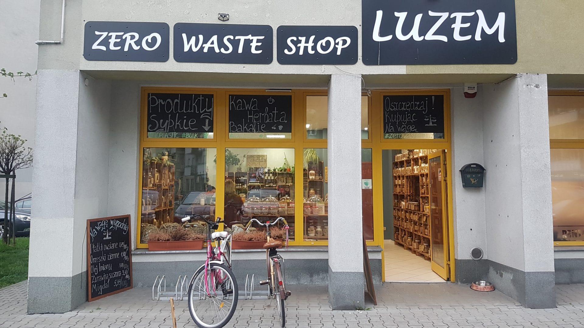 Sklep LUZEM zero waste Kraków