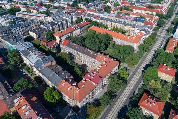 Osiedle niemieckie przy ul. Królewskiej, fot. Paweł Mazur, bankfoto.info