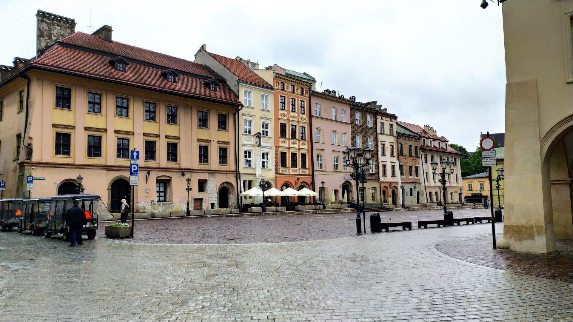 Kraków. Mały Rynek, maj 2021.