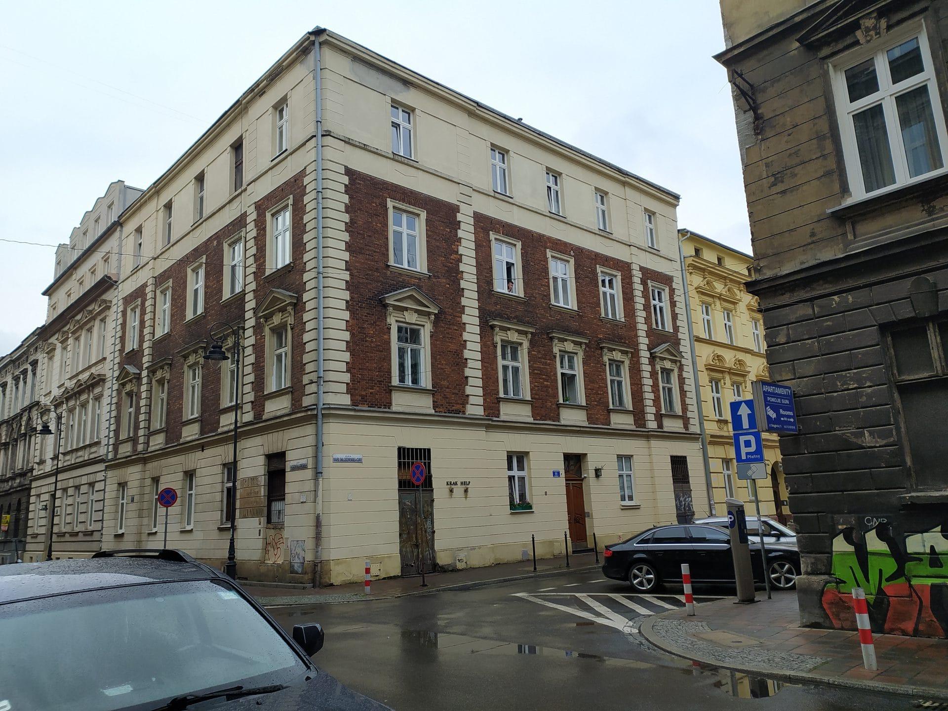 Maliszowie na miejsce napadu wybrali kamienicę przy ulicy Pańskiej 11. Dziś to ulica Marii Skłodowskiej-Curie.