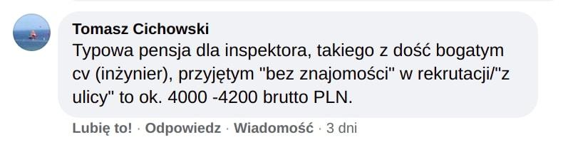 Urząd Miasta Krakowa pensja