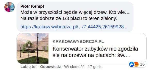 Piotr Kempf plac św. Ducha