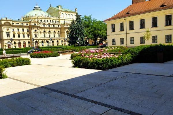 Plac św. Ducha w Krakowiee