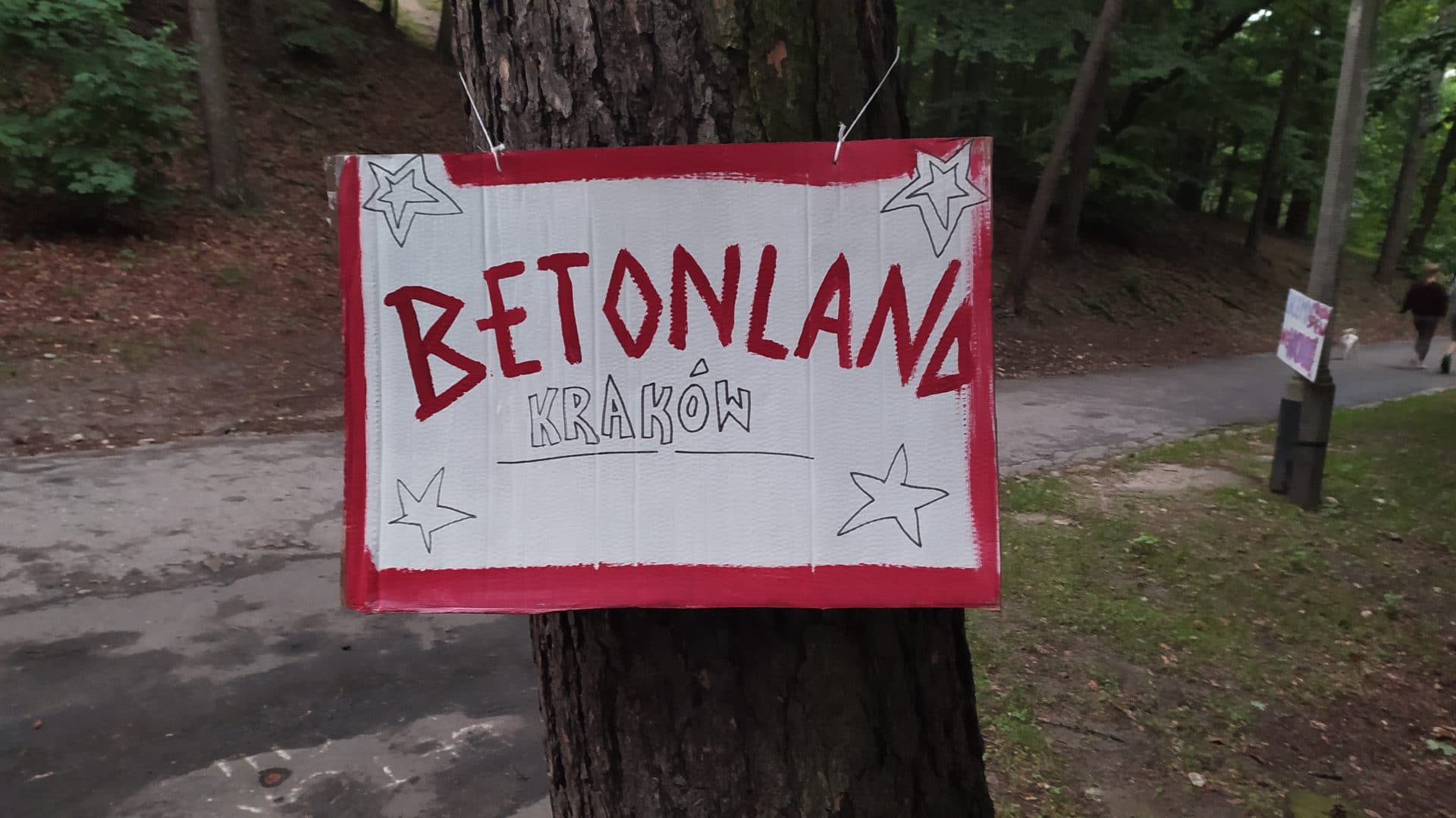 Betonland Kraków.