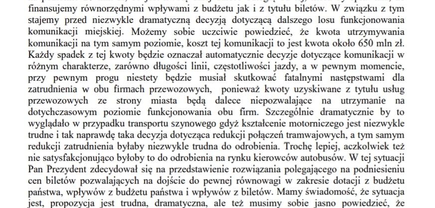 Stenogram wypowiedzi Andrzej Kulig z sesji Rady Miasta Krakowa 14.10.2020 r.