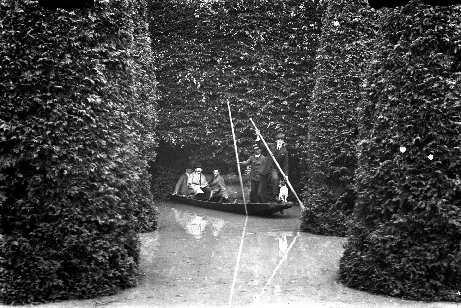 Park Jordana. Powódź w 1925 roku. Źródło: Narodowe Archiwum Cyfrowe.
