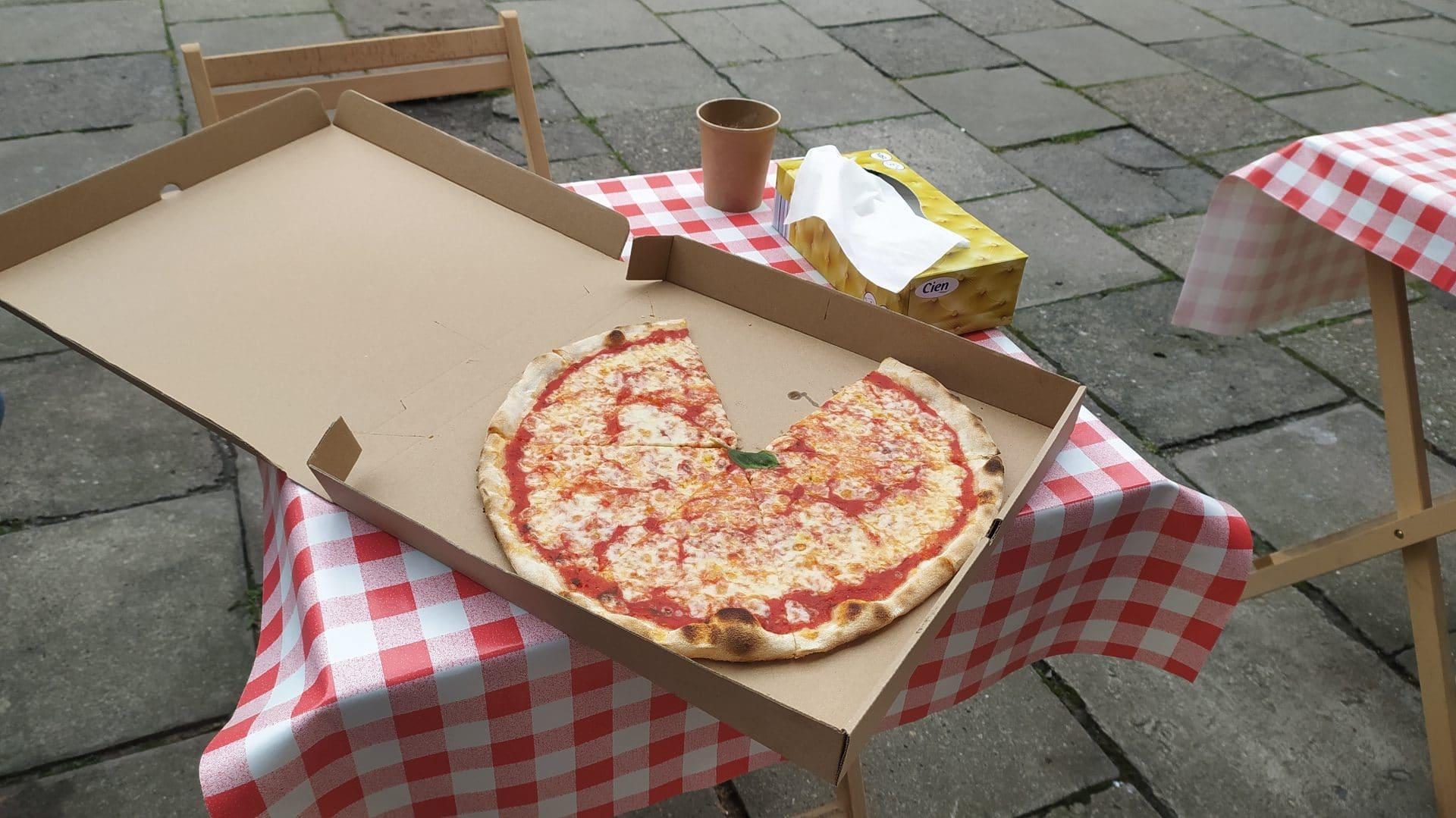 Pizza z Piccola Sardegna w Krowodrzy.
