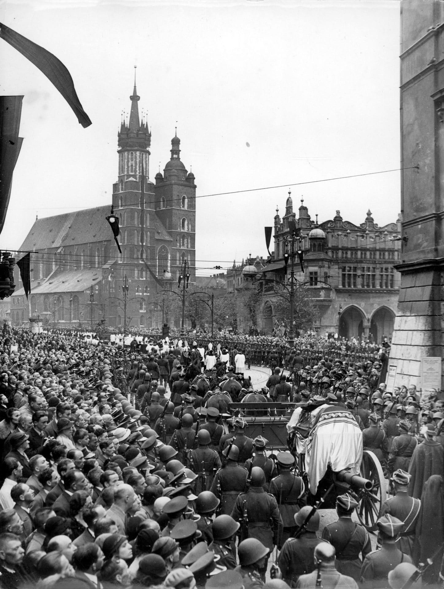 Pogrzeb Józef Piłsudski Kraków