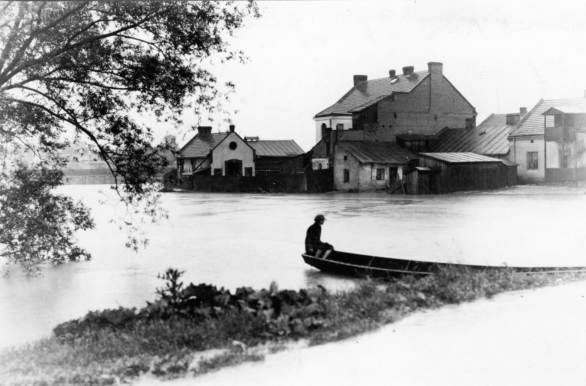 Powódź Kraków 1925 rok.