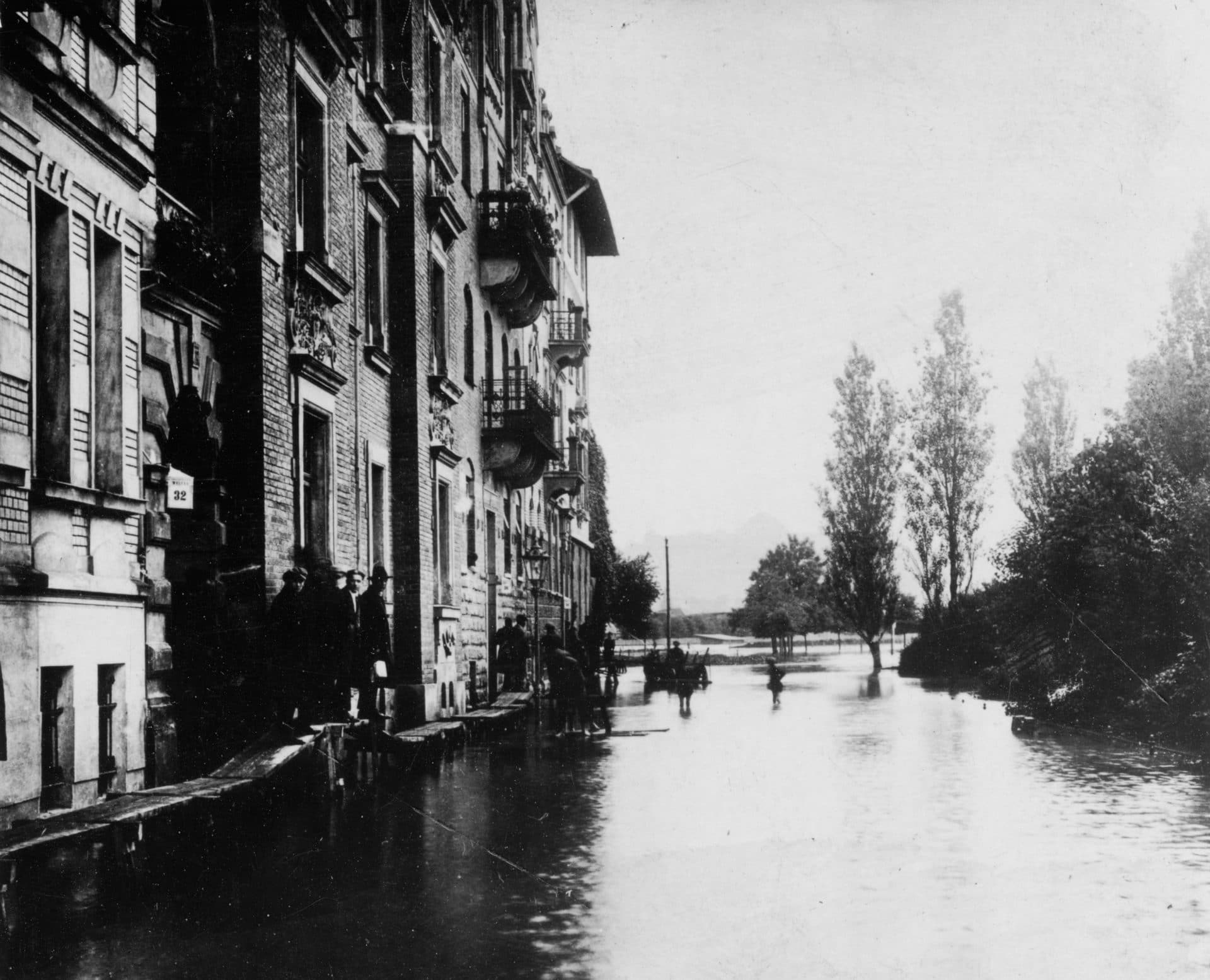 Powódź w Krakowie 1925 rok.