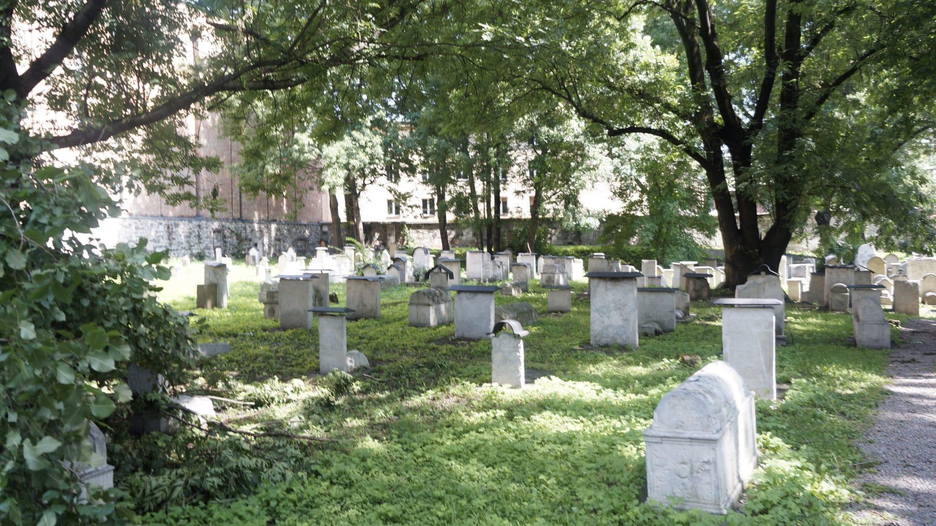 Stary cmentarz żydowski Remuh. To tutaj miały rozgrywać się wydarzenia opisane w legendzie.