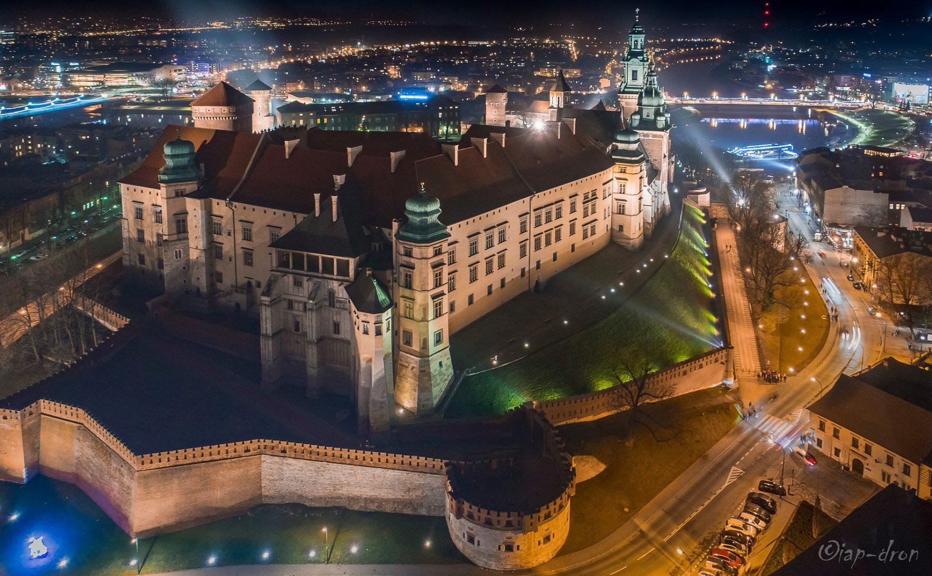Zamek Królewski na Wawelu. Fot. Krak-Dron.