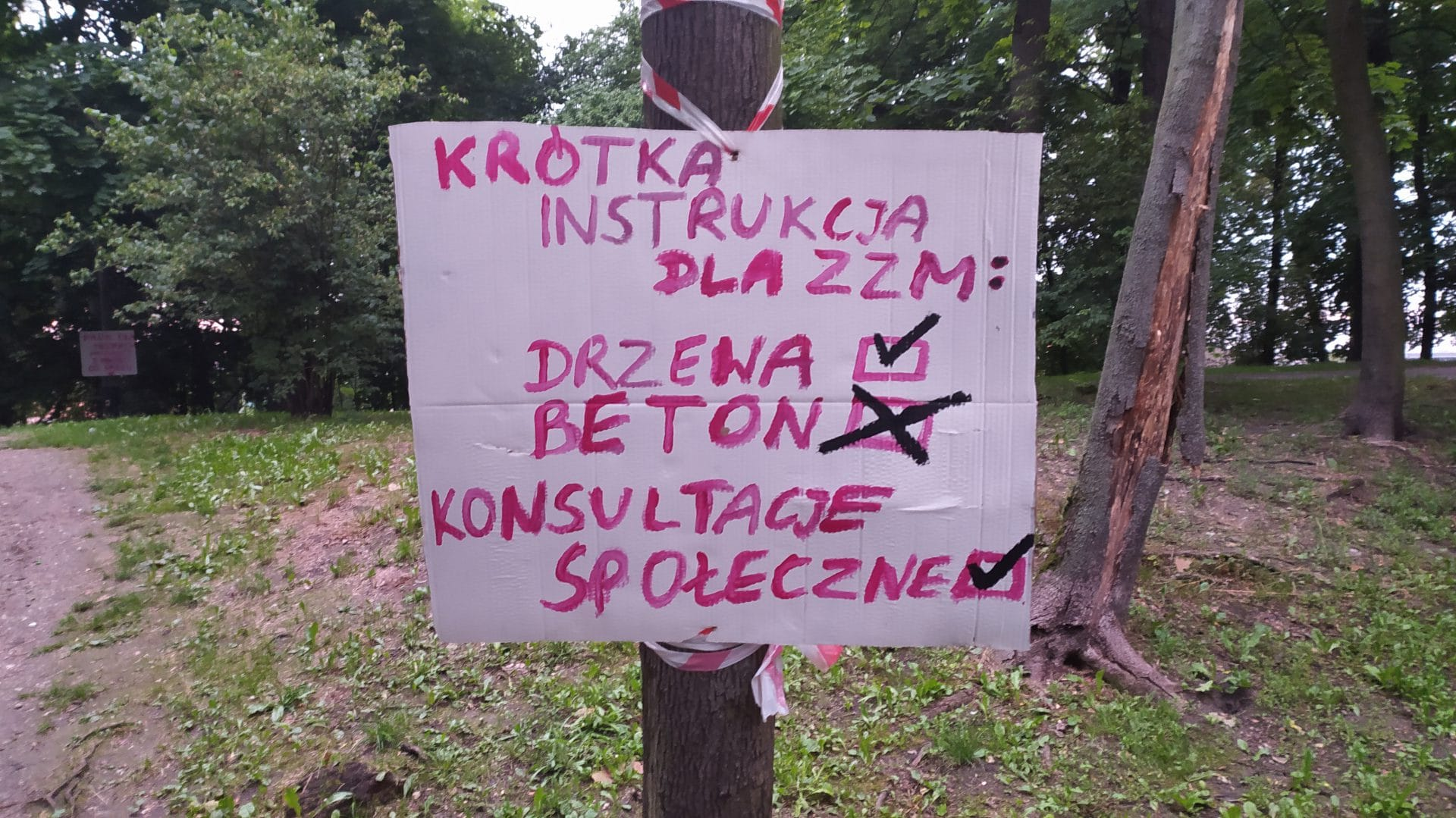 Zarząd Zieleni Miejskiej w Krakowie. Konsultacje społeczne.